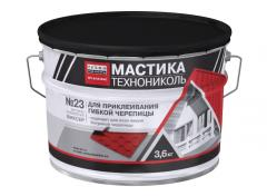 Mastic for flexible tile TEKHNONIKOL No. 23