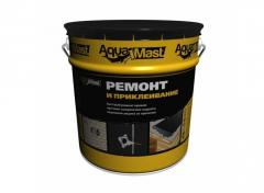 Mastic bituminous cold for repair of roofs and a