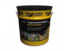 Waterproofing for a roof bituminous and rubber