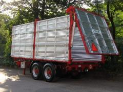 VESK agricultural trailer (TS series)