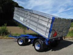The trailer for agricultural works of VESK (ZN