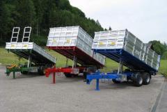 The trailer for agricultural works of VESK (TN