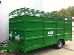 The trailer for agricultural works of VESK (EV
