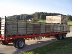 VESK agricultural trailer, DT+ZT series