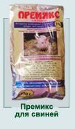 Premixes for domestic animals, Food for domestic