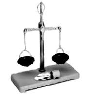Analytical mechanical balance