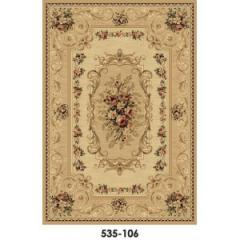 Synthetic carpet of machine work, 535-106