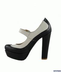 Туфли BATISTRADA черно-белые