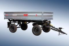 Trailer tractor self-dumping 2-PTS-6