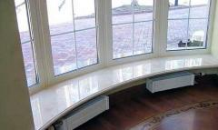 Window sills from an artificial stone
