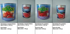 Томаты консервированные / Rosii conservate