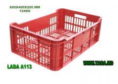 Ящик перфорированный тарный модель А113/Lada