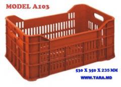 Перфорированный ящик для фруктов и овощей