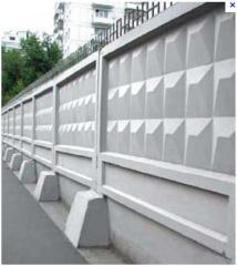 Fences are concrete cas