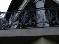 Кованый балкон 4