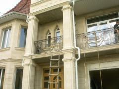 Кованый балкон 5