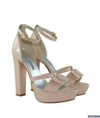 Varnish sandals from BATISTRADA pink 749 leev