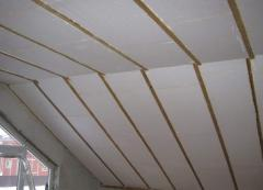 Polyfoam for a ceiling