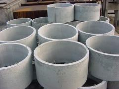 Concrete ring for wells