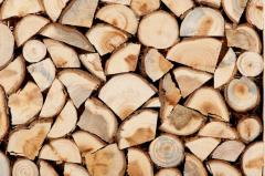 Firewood chipped
