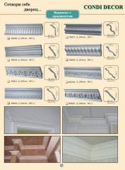 Design eaves with ornament for ceiling