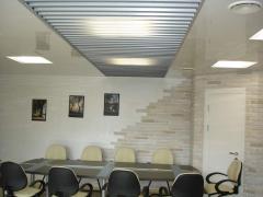Tavan casetat din aluminiu cu structura ascunsa