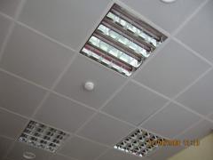 Ceilings are suspended, Rack, cassette, grilya