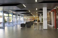 Алюминиевый подвесной потолок реечный, грильято, кассетный
