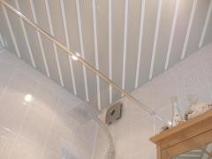 Moisture resistant ceilings aluminum