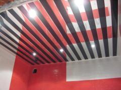 Red ceilings