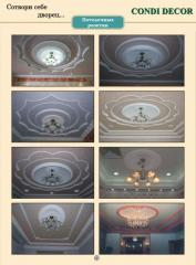 Graceful ceiling socket (medallion)