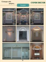 Graceful decorative facade