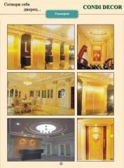 Pilasters, decor