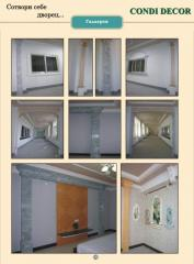 Pilasters, dressing