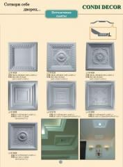Ceiling plate