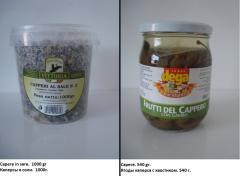 Каперсы в соли  / Ягоды каперса  / Capere in sare