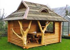 Garden furniture made of wood, excellent quality