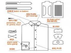 Полный комплект для упаковки рубашек