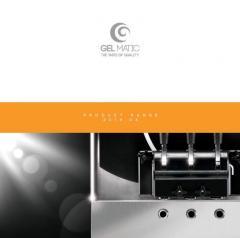 Оборудование для производства мороженого марки GEL