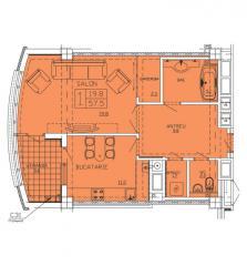 Новострой в Молдове Квартиры 1- комнатные