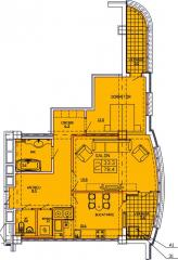 Квартиры 2-х комнатные   Apartament 41