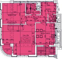 Apartments 2-roomed Apartament 49
