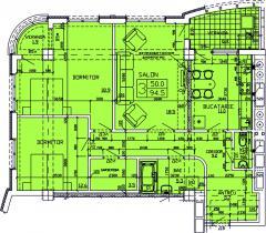Apartments 3-roomed Apartament 51
