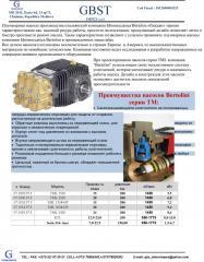Pumps of a high pressure