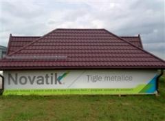 Tigla metalica NOVATIK in Moldova