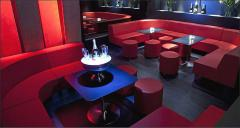 Bars furniture and night clubs
