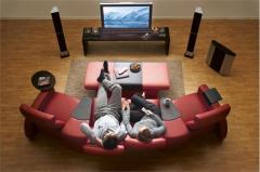 Акустика  и звукоизоляция для домашнего кинотеатра