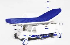 Stretcher for the emergency transportation