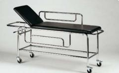 Couch for the patient with the fixed top