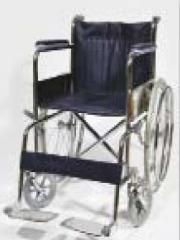 Folding wheeled chair for disabled